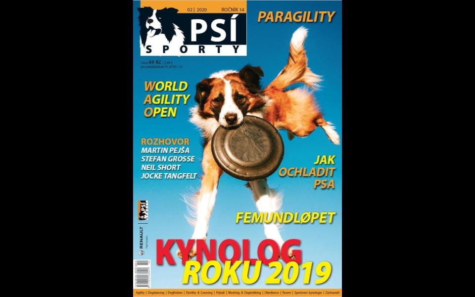 Psí sporty 2020/2 – OBSAH