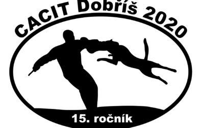 CACIT Dobříš 2020 – online výsledky